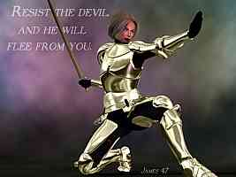 Put on the whole armor of God, that you may be able to stand against the wiles of the devil. Ephesians 6:11-17