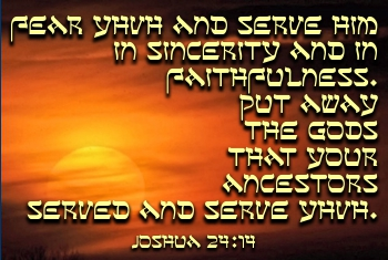 Serve YHVH